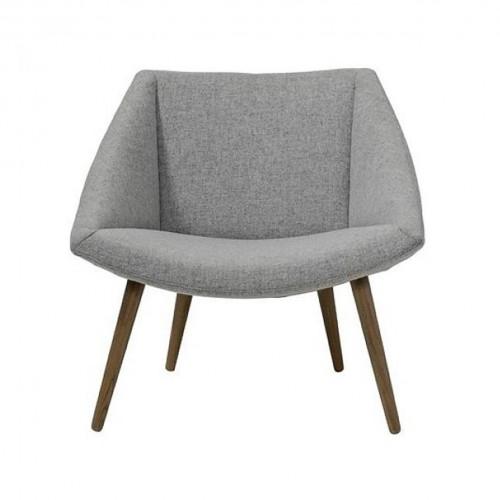 Fauteuil Elegant Chair Grise Bloomingville