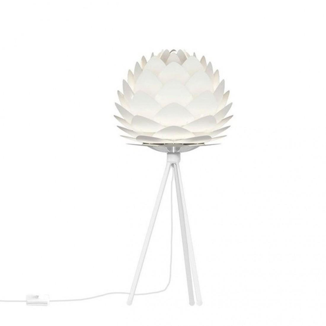 lampe poser silvia blanche de la marque vita copenhagen r f. Black Bedroom Furniture Sets. Home Design Ideas