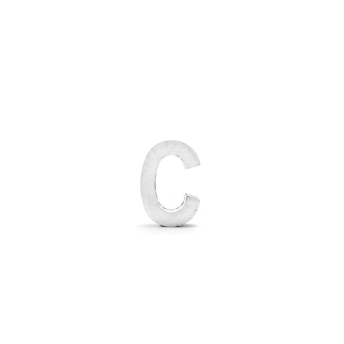 Lettre deco Metalvetica - SELETTI