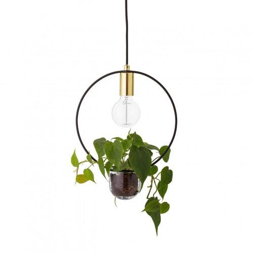 Suspension avec plante intégrée Bloomingville