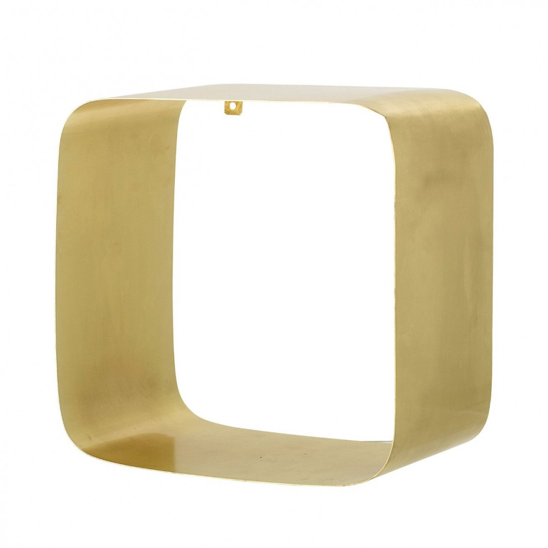 Étagère carrée dorée de la marque Bloomingville