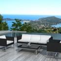 Salon de Jardin en résine tressée Acapulco