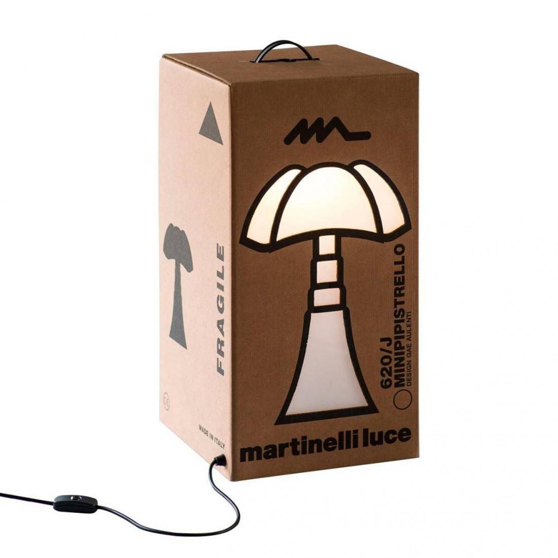 Lampe à poser Boîte en carton lumineuse - Martinelli Luce