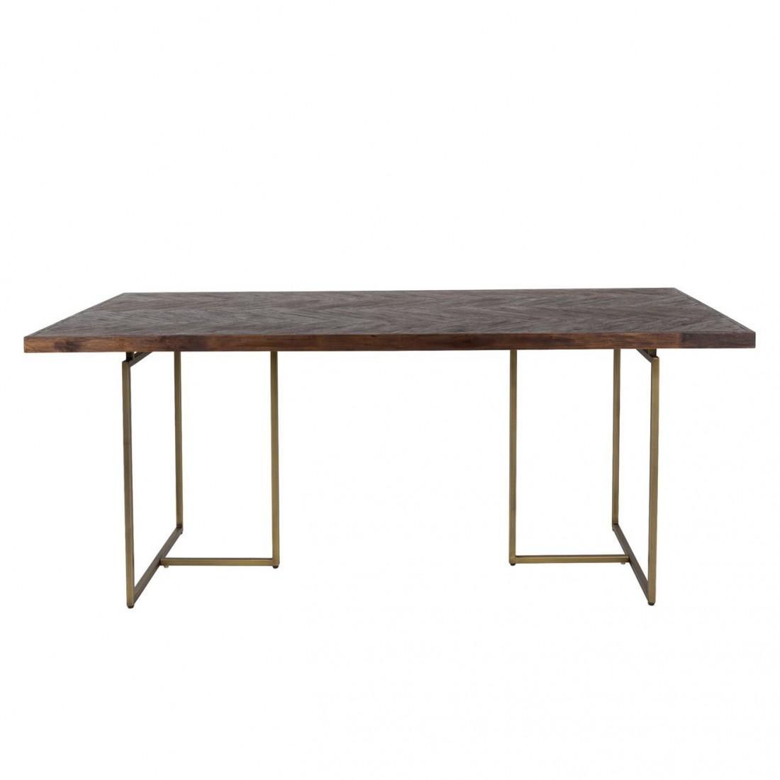 Table à manger Class en bois d'acacia - Dutchbone