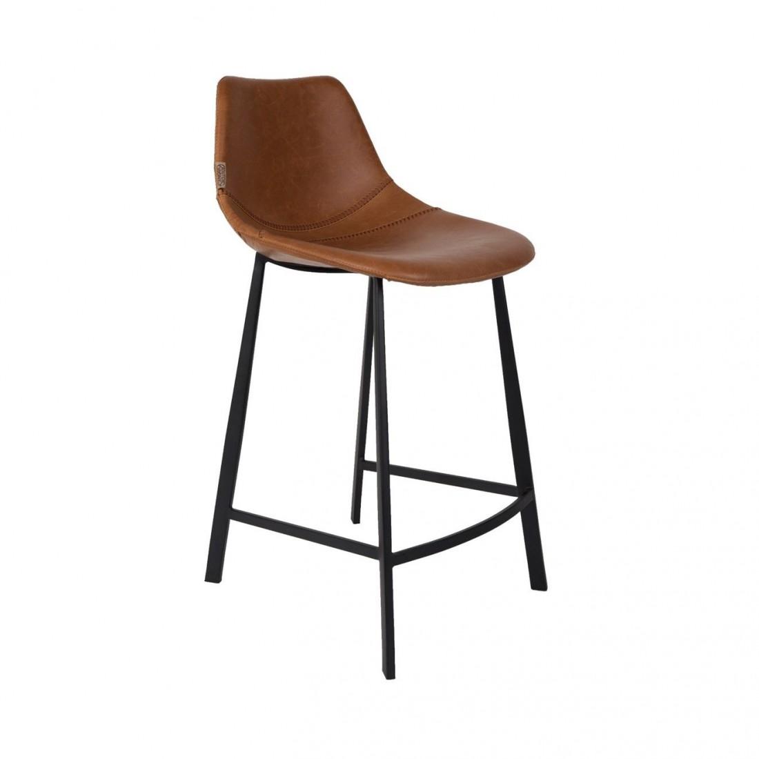 Tabouret de bar brun Franky - Dutchbone