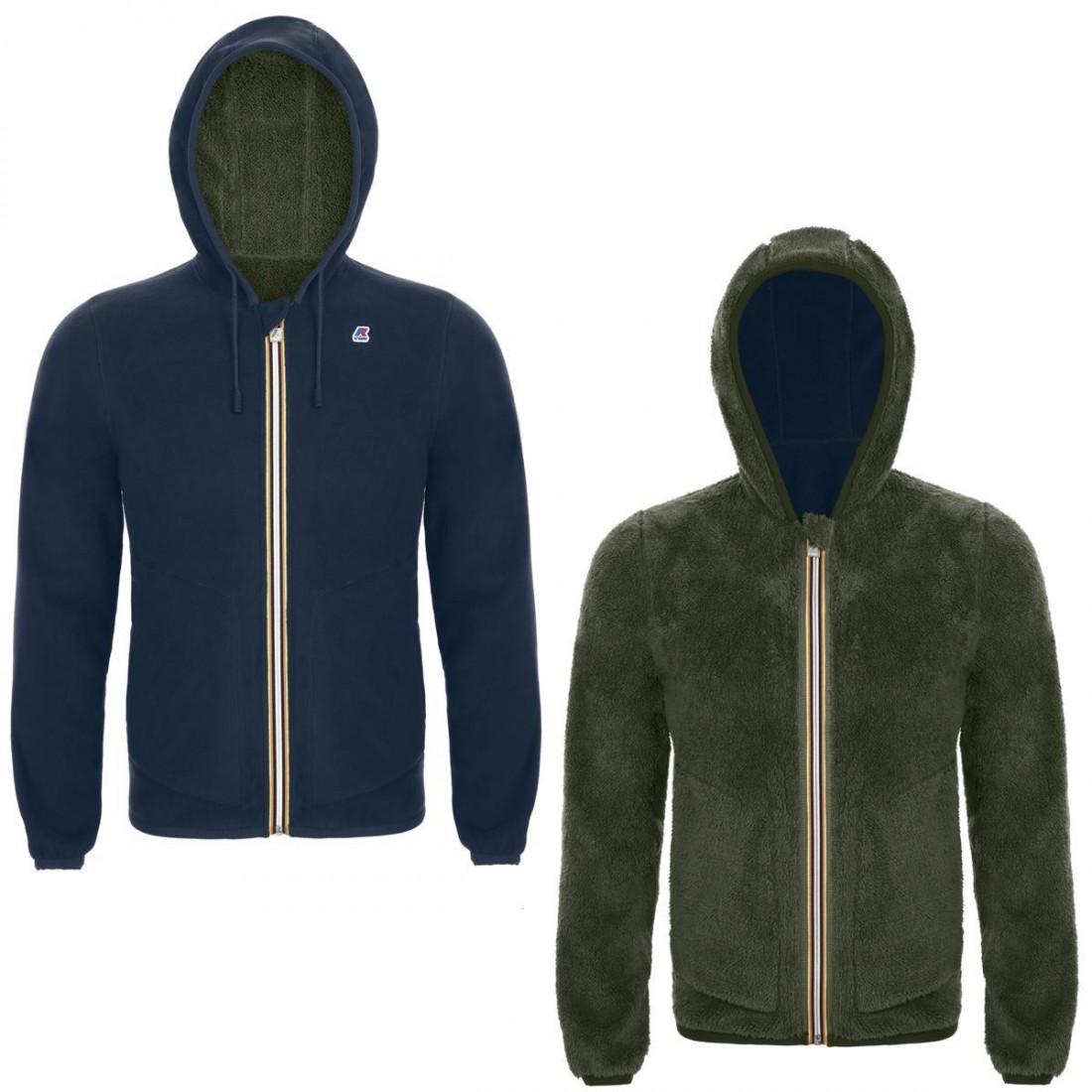 K-Way Jacques Polar Fleece Bleu/Vert