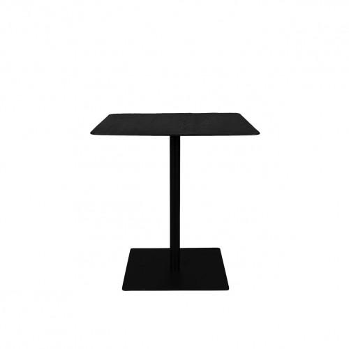 Table de bistro Braza Square Noire - Dutchbone