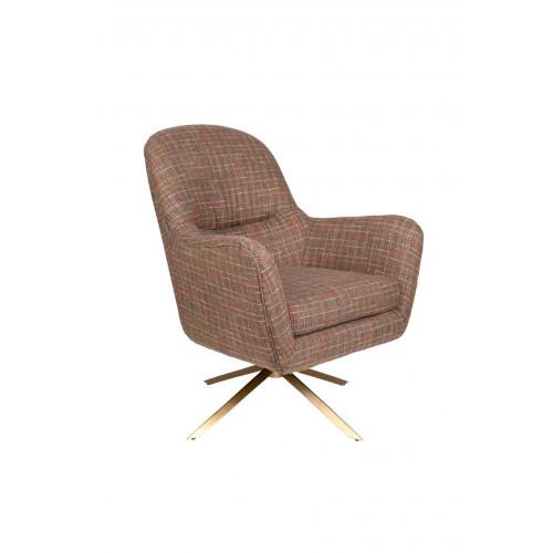 Fauteuil Lounge Chair RobustoTexas - Dutchbone