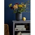 Vase en grès bleu Bloomingville