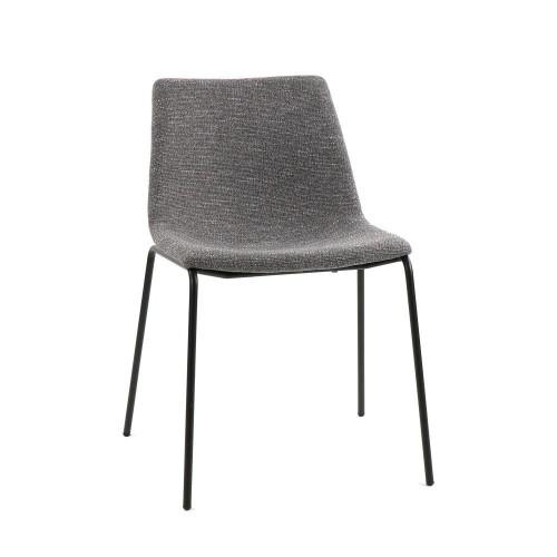 Chaise en tissu Romo Pomax