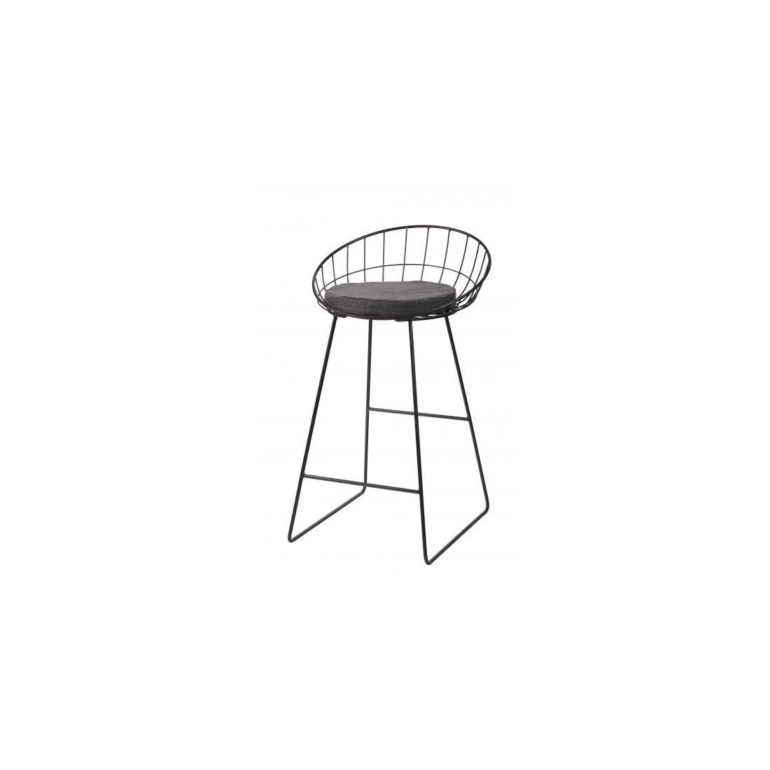 Chaise de bar Treillis Pomax