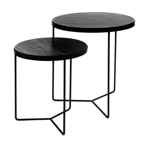 Tables Basses Miso Pomax  40/50 X H 46/56 CM