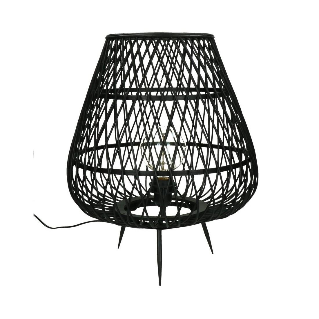 Lampe en bambou Tao Pomax 38 X 45 CM