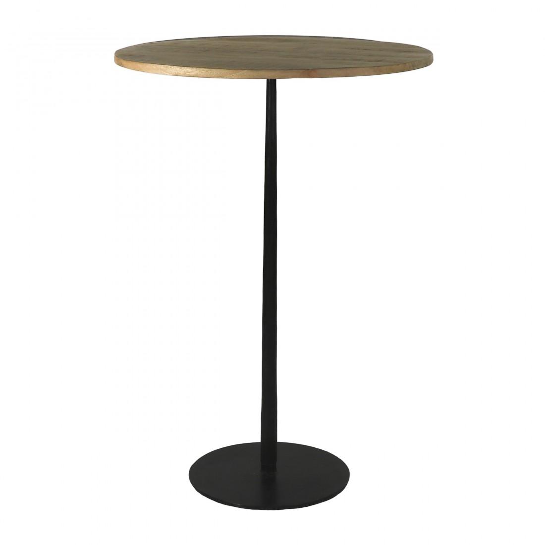 Table Haute Bistro Pomax 70 X H 104  CM