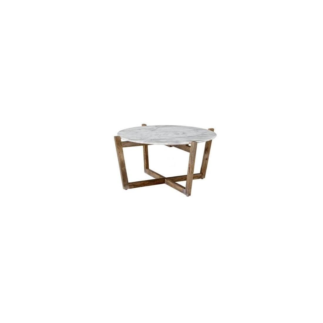 Table basse en marbre Bloomingville