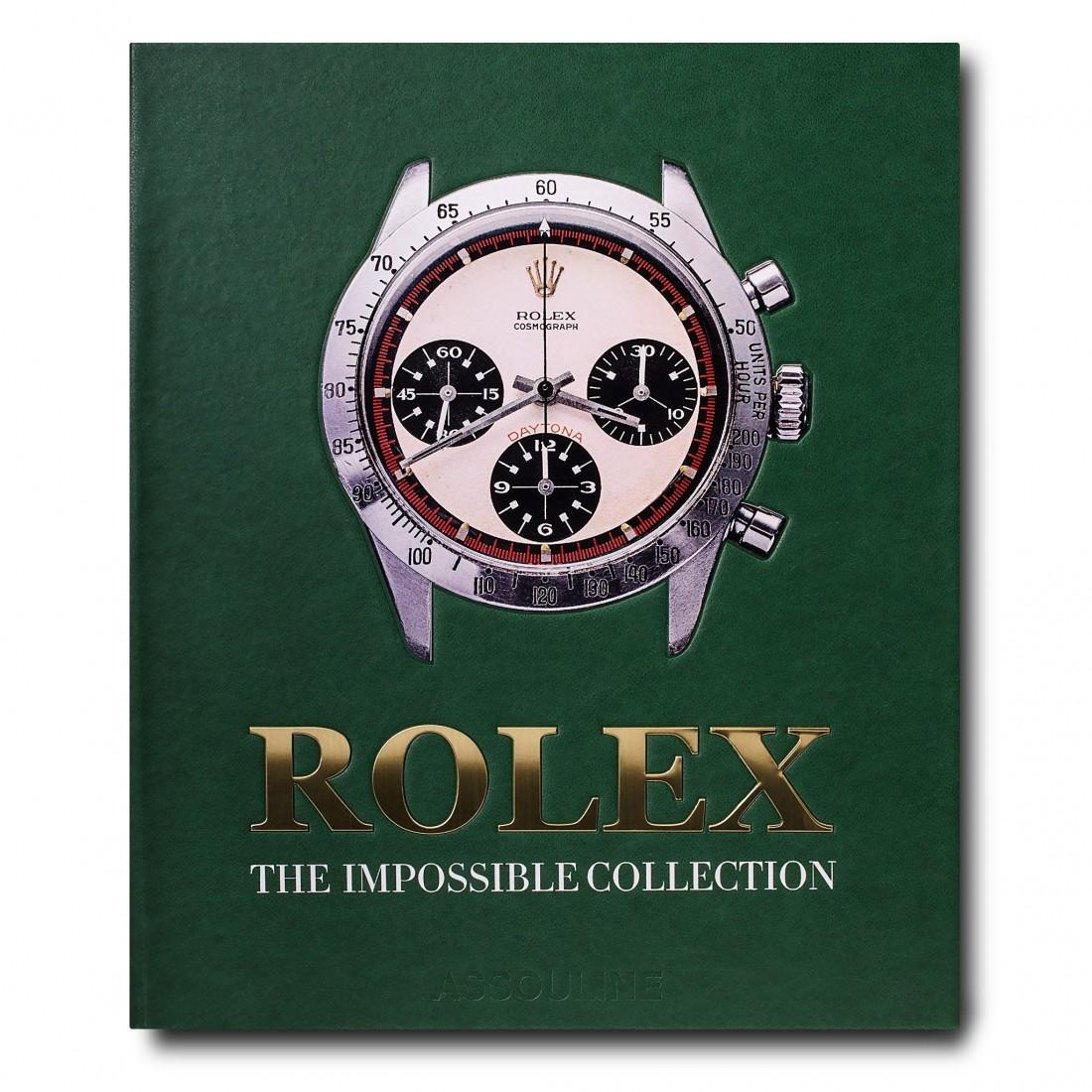 Livre Rolex: The Impossible Collection Assouline