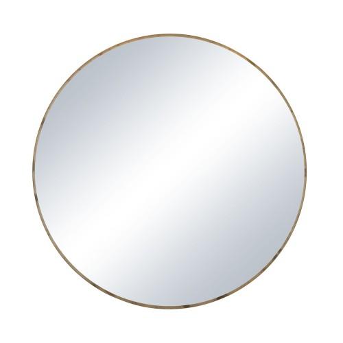 Plateau rond Miroir taille M pour table basse Flex Pomax