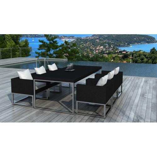 Table et fauteuils de jardin - Angel