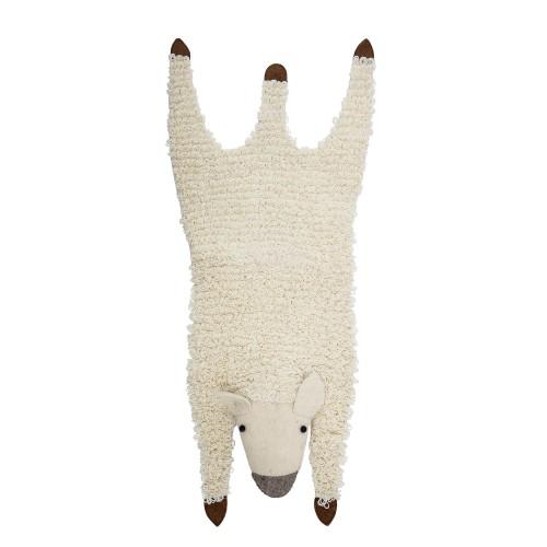 Tapis mouton pour chambre d'enfant Bloomingville