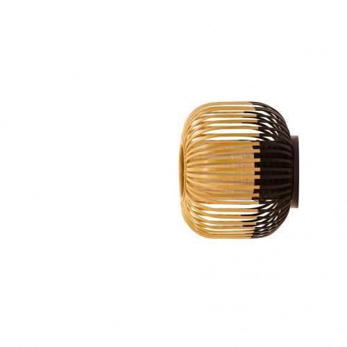 Applique / plafonnier bamboo light xs Noir - Forestier