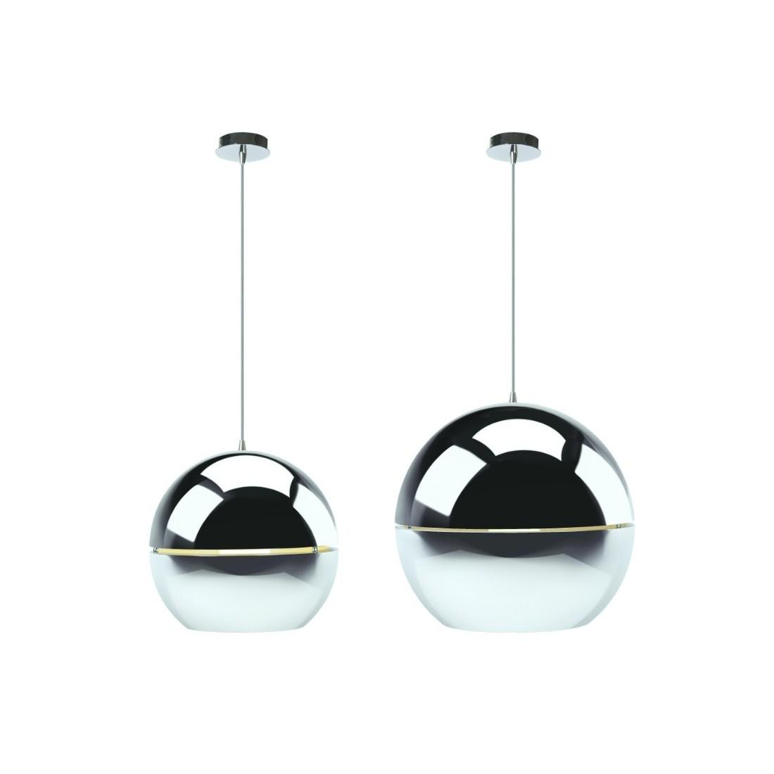 Suspensions retro chrome zuiver s 39 est inspir des ann es - Manieres creer decor inspire annees ...