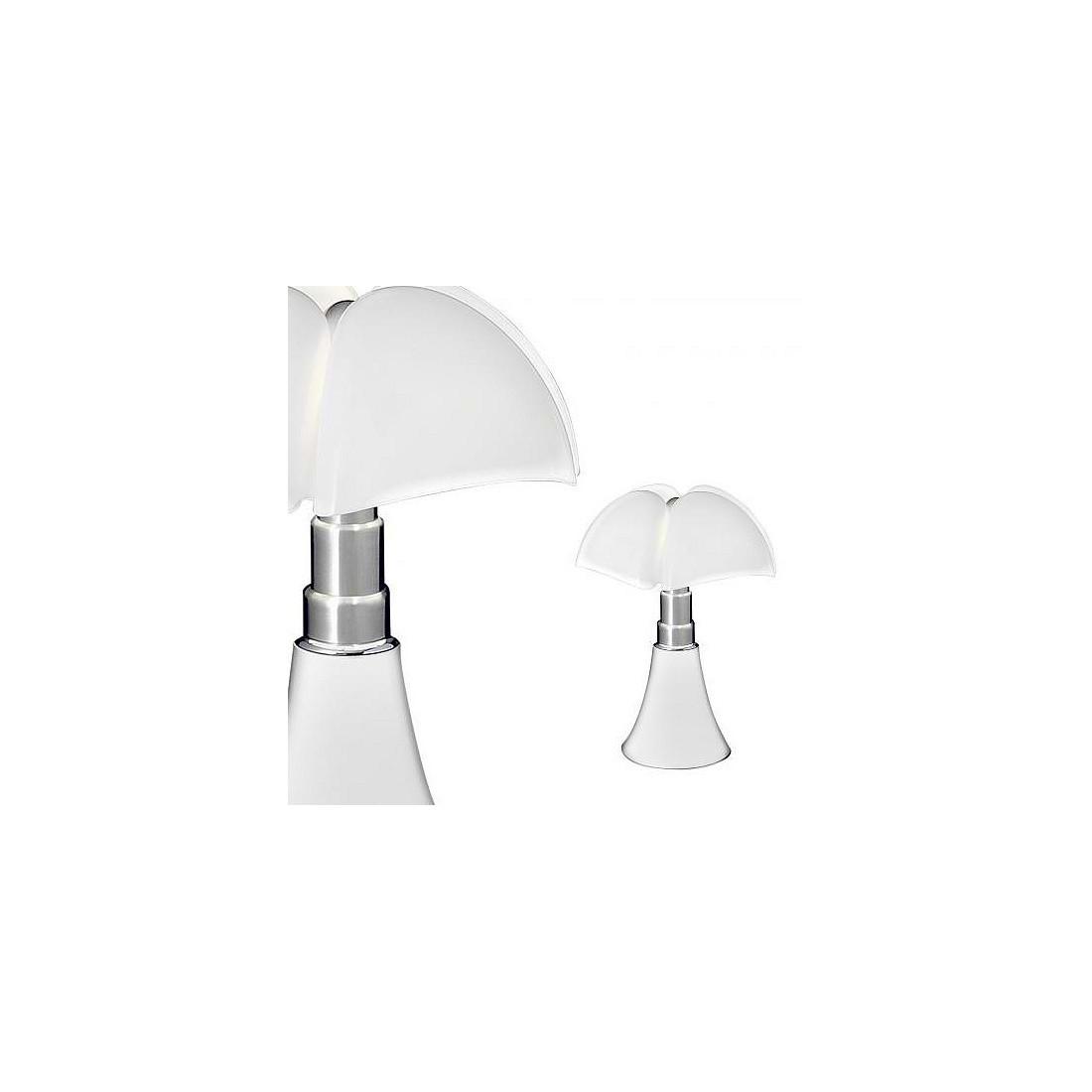 vraie lampe poser mini pipistrello led 9w blanche martinelli 35 cm. Black Bedroom Furniture Sets. Home Design Ideas