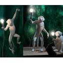 "Lampe à Poser Singe Monkey Blanc "" Sitting"" Seletti"