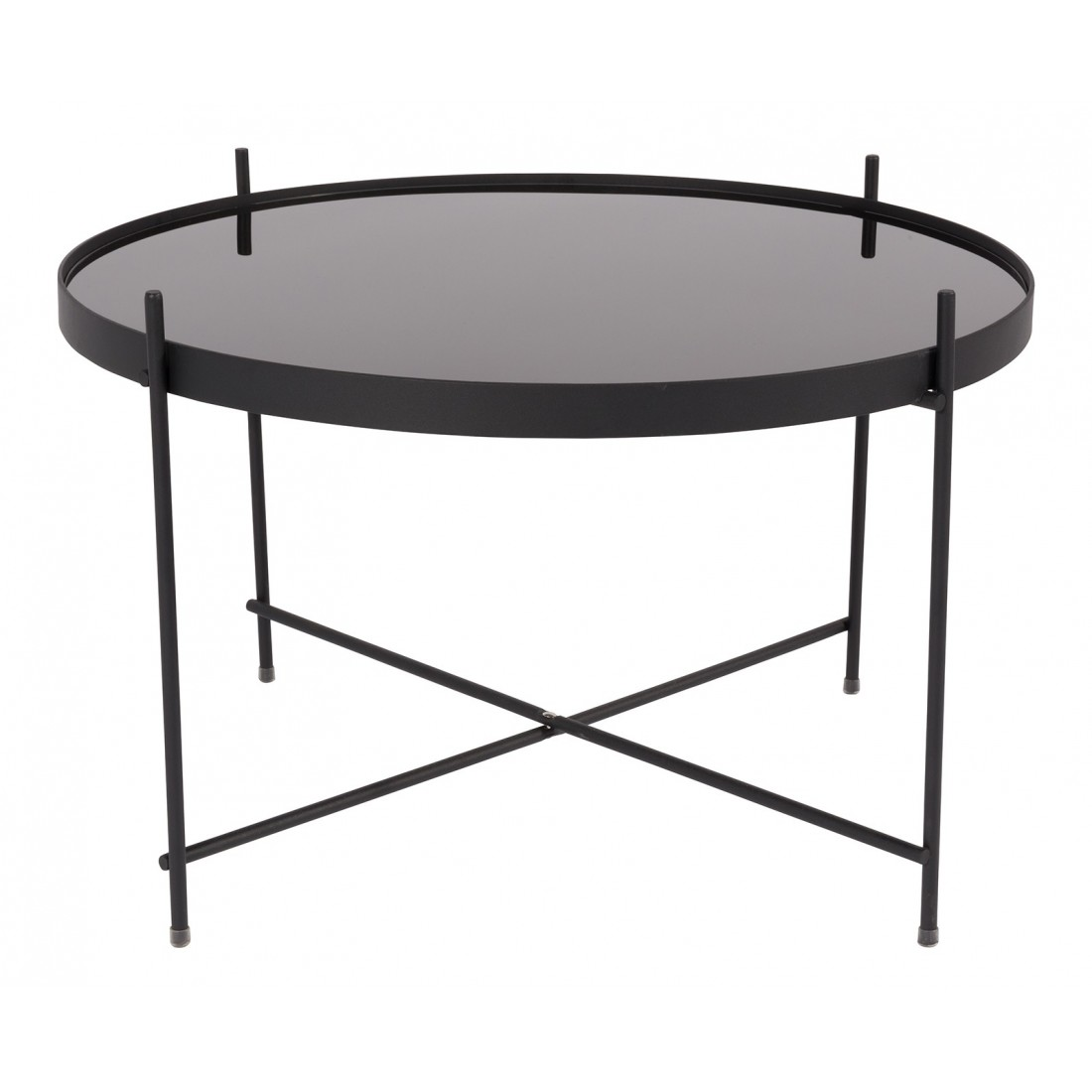 """Table Basse"""" Side Table Cupid Large Black"""" ZUIVER"""