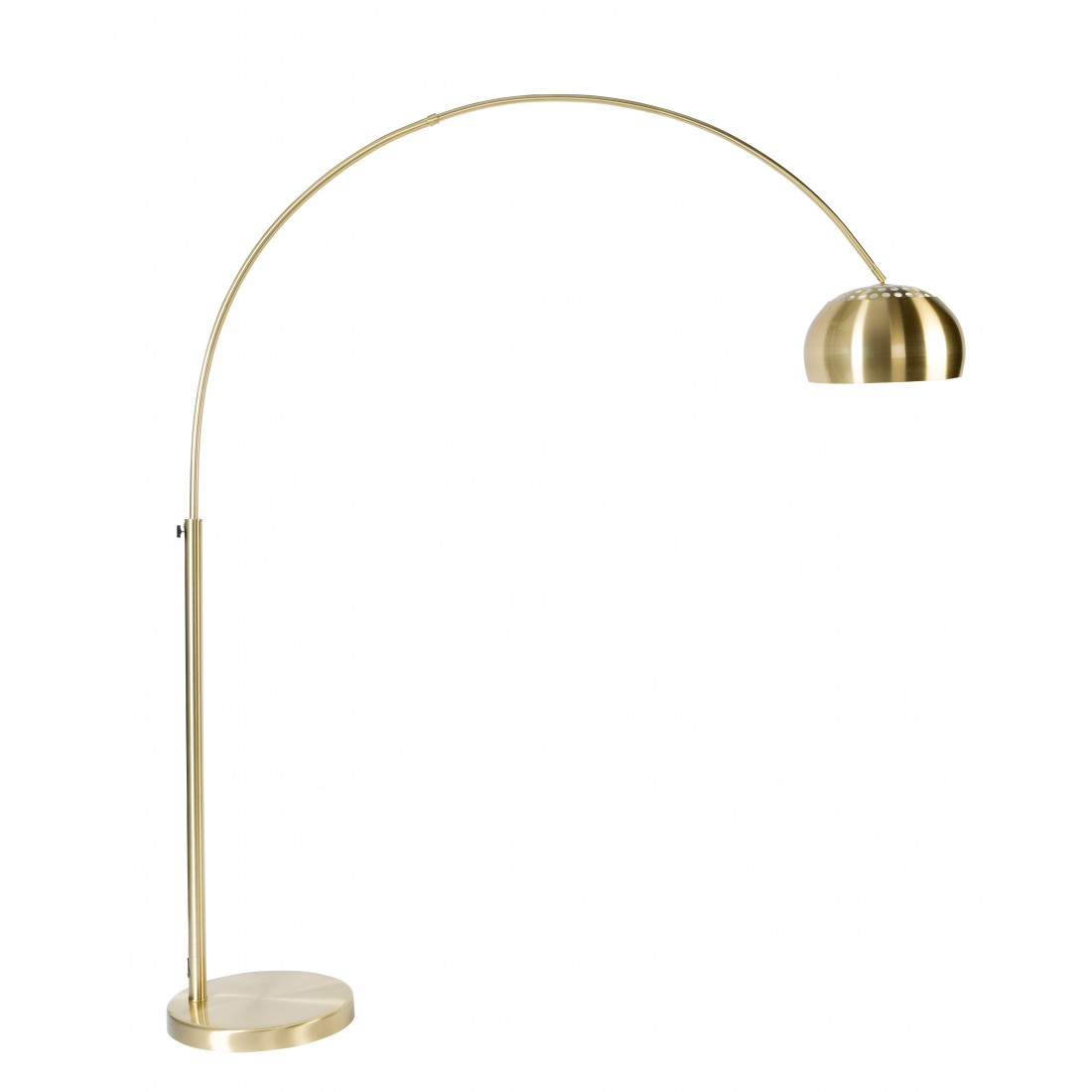 Lampadaire metal bow brass Or Zuiver