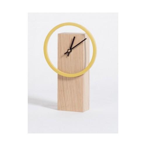 Horloge CYCLOCK Jaune Drugeot Labo