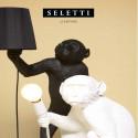 "Suspension Monkey Blanc "" Avec Corde"" Seletti"