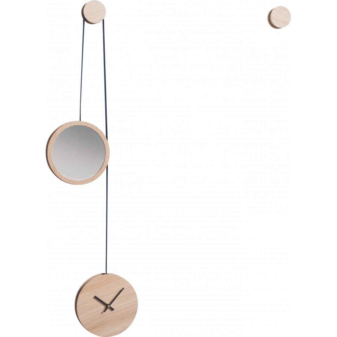 Horloge-Miroir PENDULE Drugeot Labo Noir