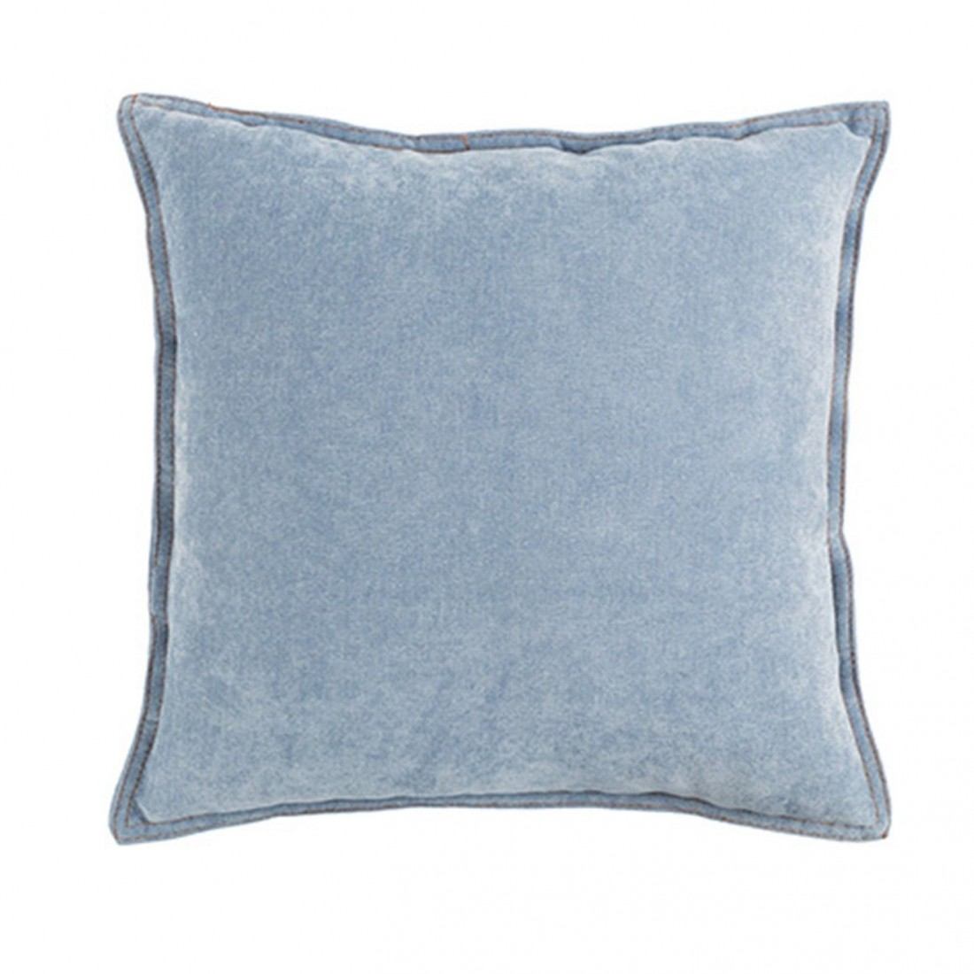 Coussin JUSTIN Bleu Clair White Label