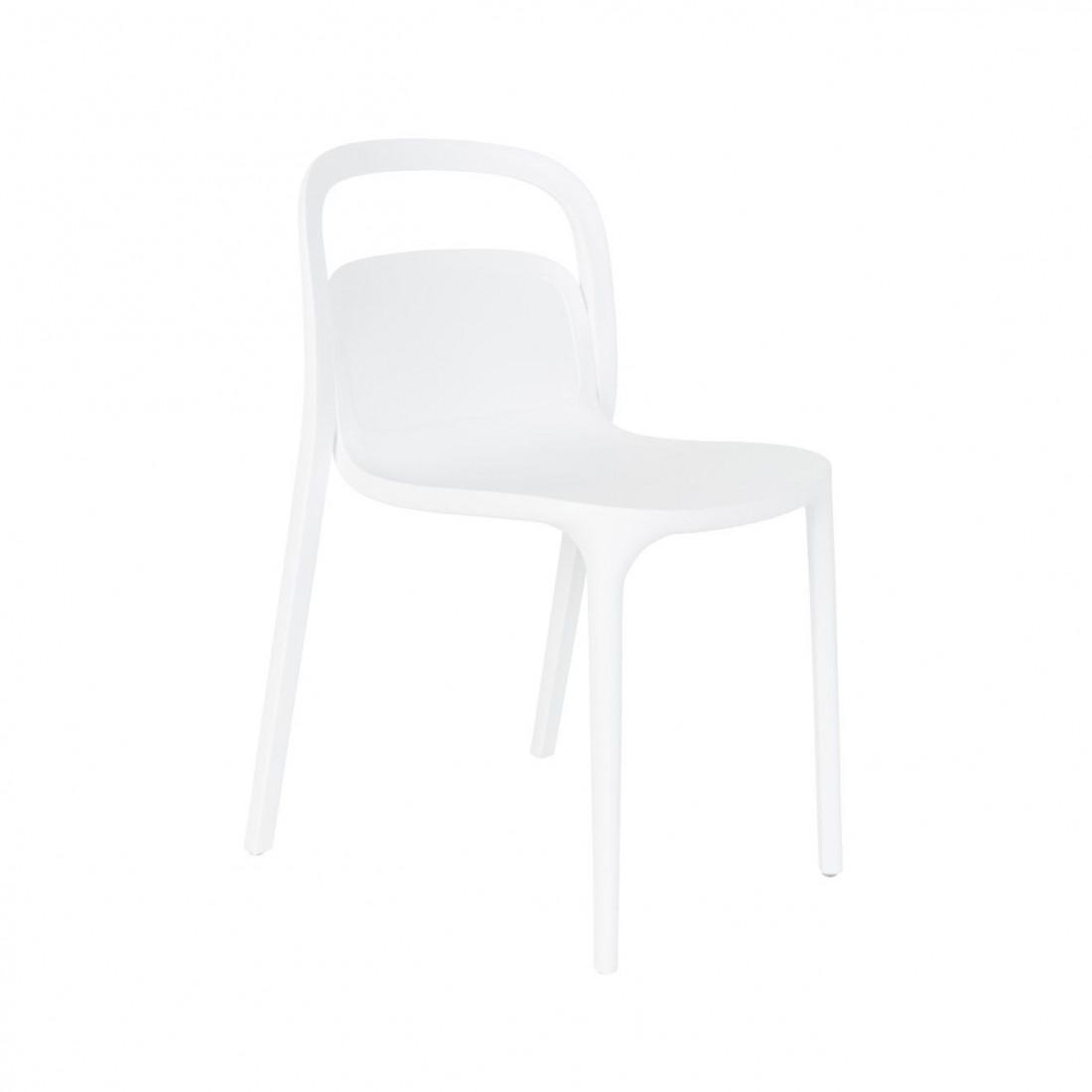 chaise Rex blanc White Label