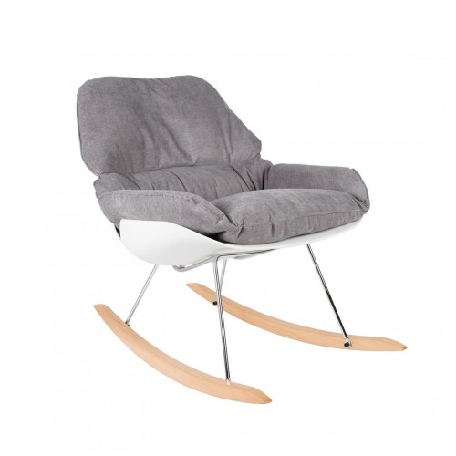 Rocking Chair gris clair Rocky WLabel Edition