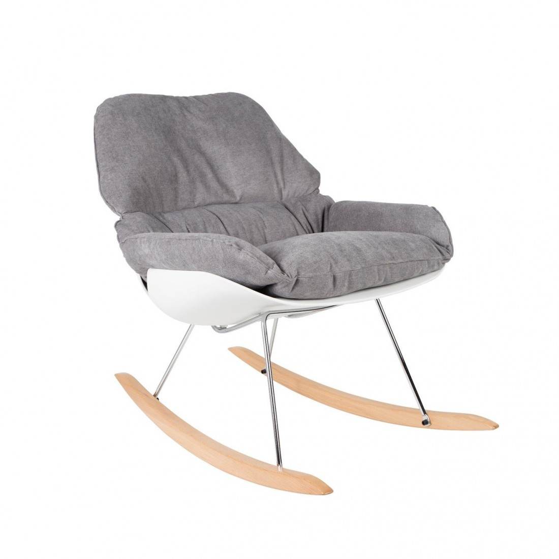 Rocking Chair Rocky White Label Living