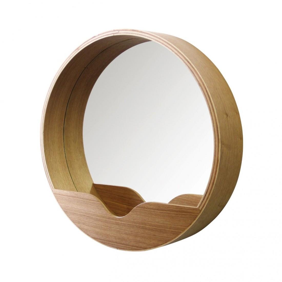 Miroir Round Wall Zuiver 60'