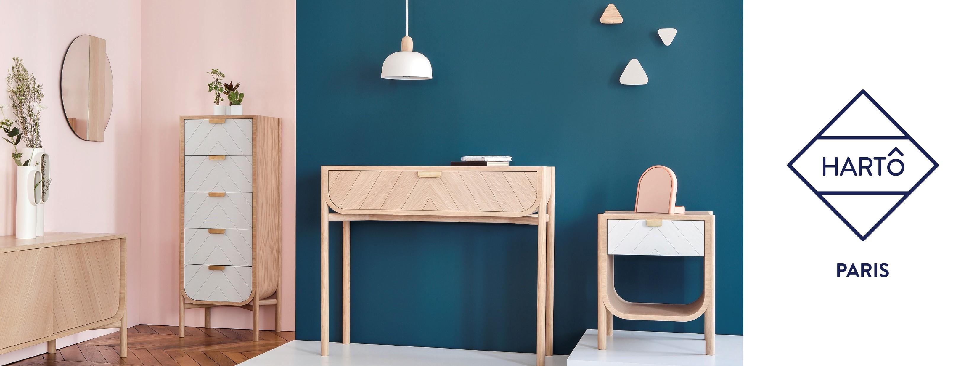 D couvrez le marque de mobilier fran aise hart sur for Marque mobilier design