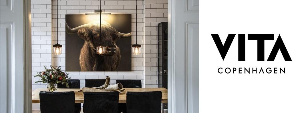 d couvrez la marque de luminaire vita copenhagen avec ses lampes et suspensions po tiques. Black Bedroom Furniture Sets. Home Design Ideas